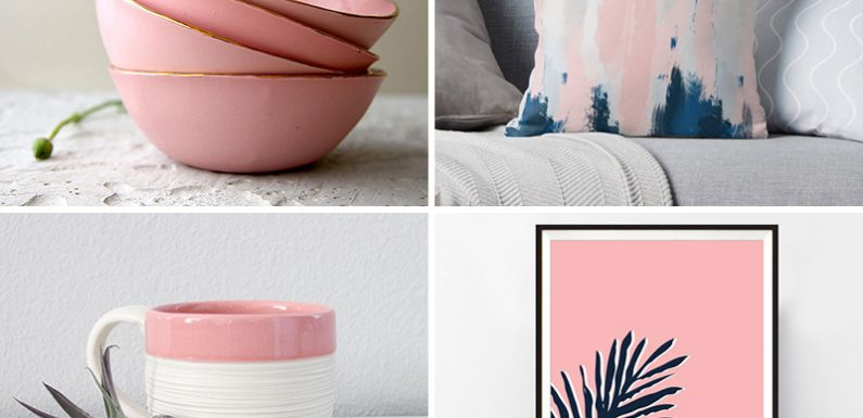 Quick Guide for Using Bronze and Blush Pink for Home Décor