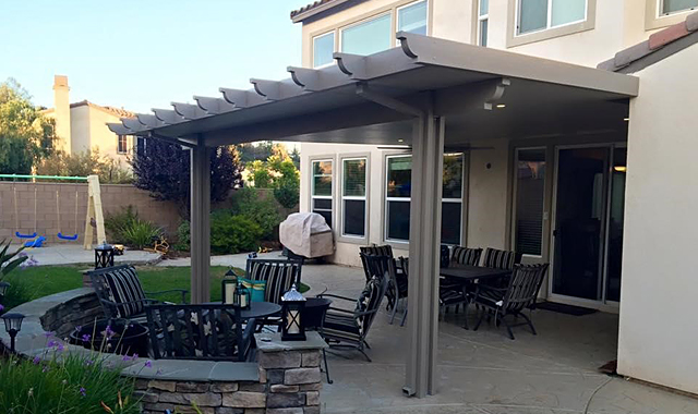 4 steps to install a patio cover