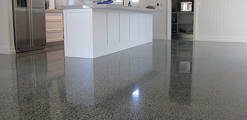 Durable and Affordable Polished Concrete Flooring