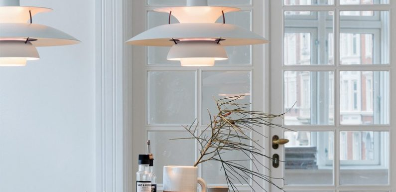 Improve your light at home with the Scandinavian beauty of Louis Poulsen design